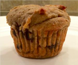 banana date muffin