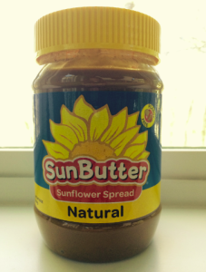 Made with sunflower seeds, sunbutter is peanut butter without the peanuts.